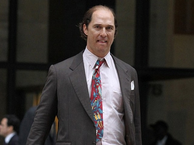 Matthew McConaughey looks unrecognisable in his new film.