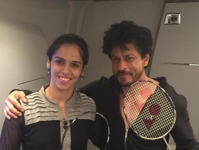 Shah Rukh Khan,SRK,Saina Nehwal