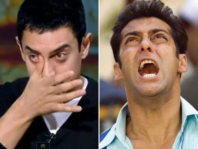Aamir Khan, Salman Khan.