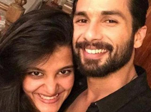 Sanah Kapur with brother Shahid. They will be starring in Vikas Bahl's Shaandaar.