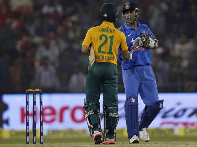 India vs South Africa cricket series 2015,Albie Morkel,Faf du Plessis