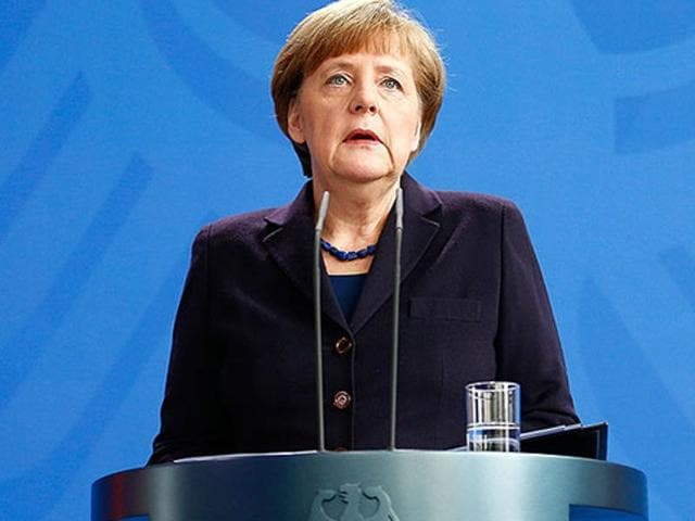 "Chancellor Angela Merkel has insisted that, despite Volkswagen's emissions scandal, Germany's reputation as a place for business has not been ""shaken""."