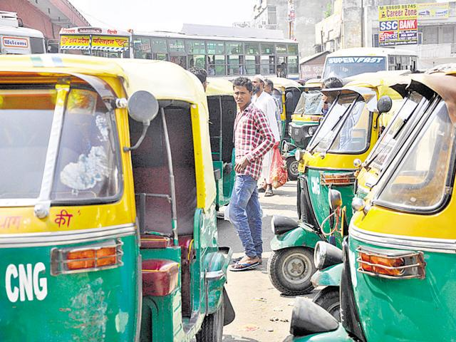 Autorickshaw drivers organised a protest march at the Old Bus Stand and some other areas in Ghaziabad. The city has nearly 16,000 autorickshaws that serve as a vital transport option.