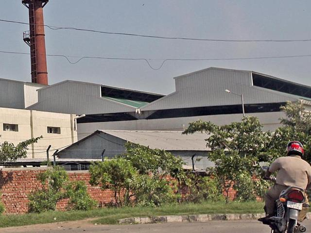 The garbage processing plant in Dadumajra, Sector 25