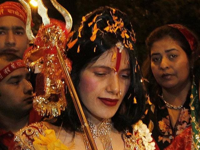 The police had filed an affidavit before a division bench of justices VM Kanade and Shalini Phansalkar-Joshi in reply to a PIL by advocate Falguni Brahmbhatt seeking FIR against Radhe Maa alleging obscenity, and police inaction on her complaint.