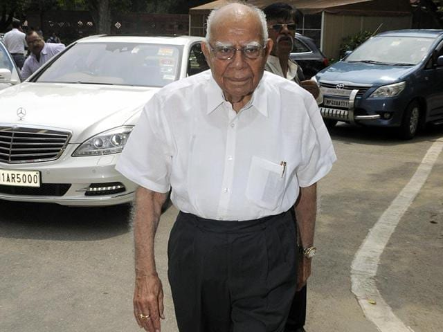 "Ram Jethmalani has recently accused PM Narendra Modi of ""cheating the people."""