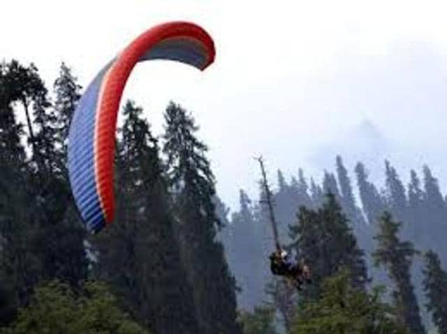 paragliding,Rohtang Pass,pollution