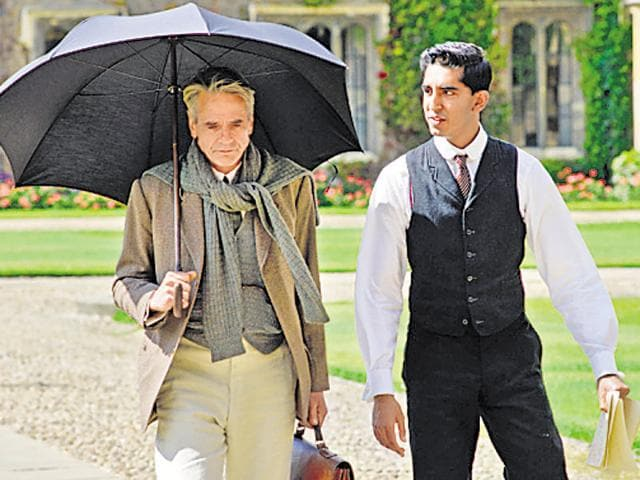 A still from the film The Man Who Knew Infinity, a biopic on S Ramanujan.
