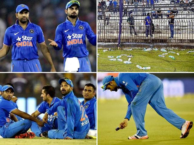 India vs South Africa cricket series 2015,Cuttack T20 crowd trouble incident,Naveen Patnaik