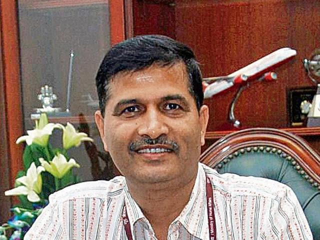 Ashwani Lohani, the new chairman and MD of  Air India.