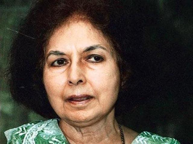 Nayantara Sahgal, the niece of India's first PMJawaharlal Nehru, returned her Sahitya Akademi Award she received in 1986.