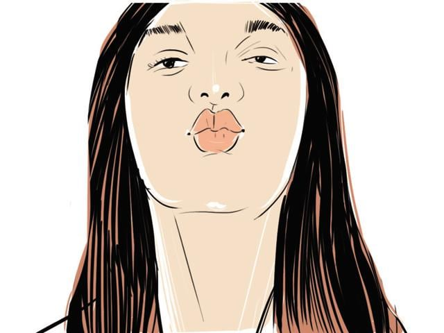 Experts say that incorporating a facial workout in your daily fitness routine can help you look younger; we list 10 such exercises that you can try.(Illustration: Shrikrishna Patkar/HT)