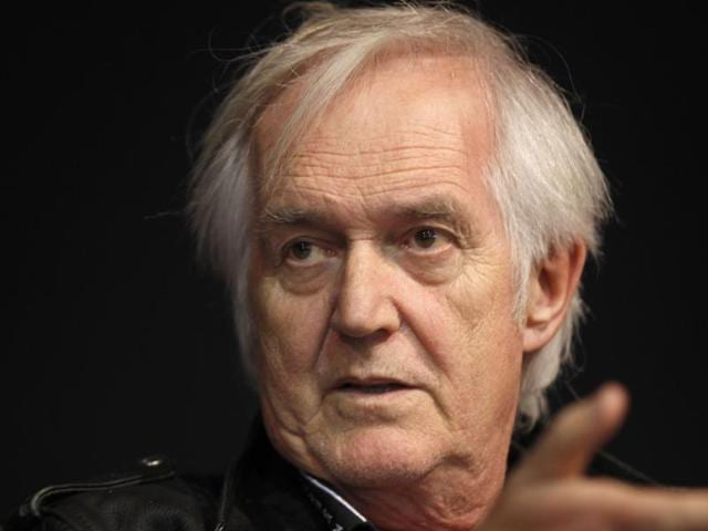 A photo taken on March 19, 2011, shows Swedish crime writer Henning Mankell during the 31st Paris' book fair in Paris.