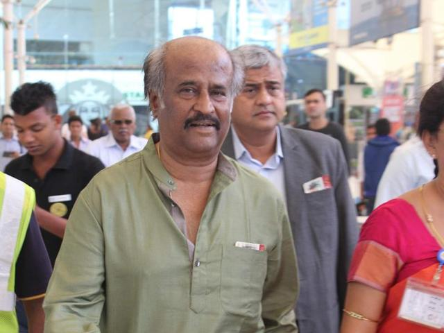 Rajinikanth watched Puli at a private screening recently.