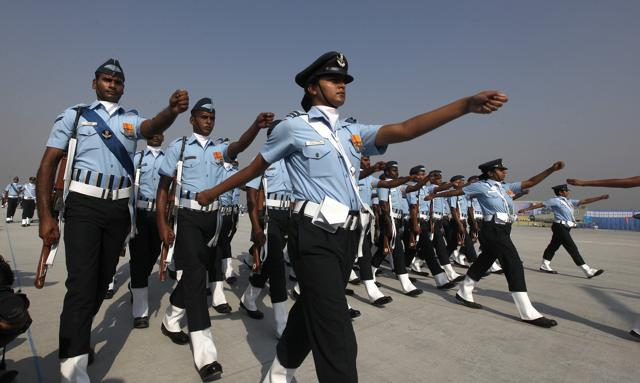 There are 750-odd women among the 10,563 officers serving in the IAF. Women started serving in the air force in 1992 and are allowed to fly only transport aircraft and helicopters.