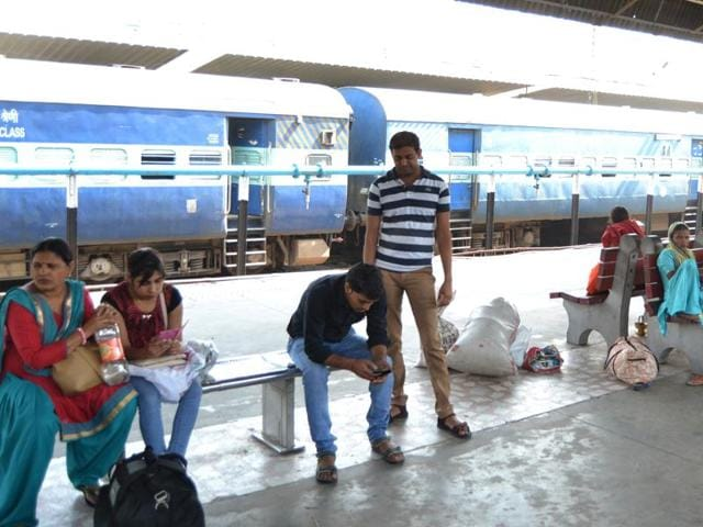Following rescheduling and cancellation of a total of 17 trains, passengers at Chandigarh Railway Station were a harried lot on Monday.