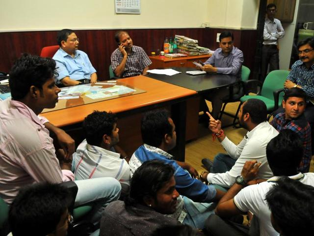 MP department of higher education,Devi Ahilya Vishwavidyalaya,NSUI