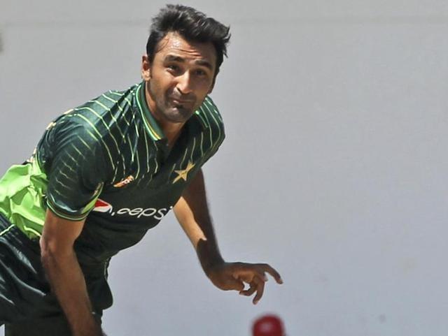 Pakistan offspinner Bilal Asif