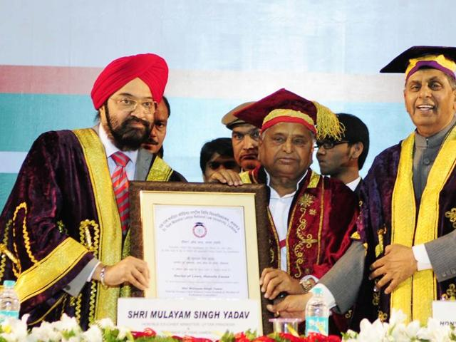 First convocation at Dr Ram Manohar Lohiya National Law University in 2013.