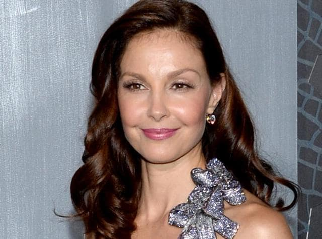 File picture of Ashley Judd arriving at the premiere of The Divergent Series: Insurgent in New York.