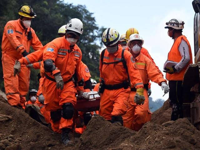 Guatemala landslide,Cambray II,Sergio Cabanas
