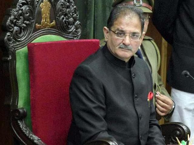 Kavinder Gupta, the speaker of the Jammu and Kashmir assembly, has revoked the suspension of two National Conference MLAs. (File Photo)