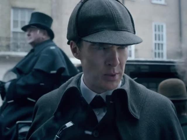 Benedict Cumberbatch in Sherlock trailer.