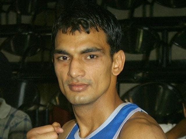 File photo of boxer Jai Bhagwan.