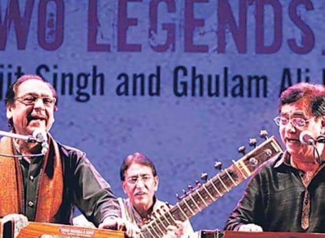 Ghulam Ali,Jagjit Singh,Concert