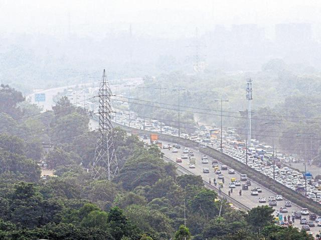 MG Road,traffic congestion,Delhi-Gurgaon expressway
