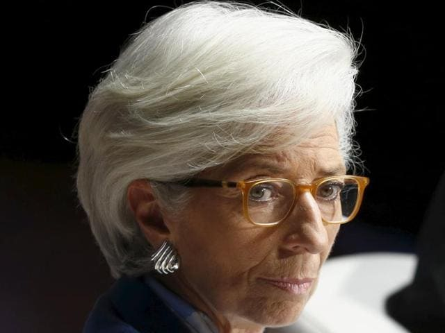 Climate change,Christine Lagarde,IMF chief