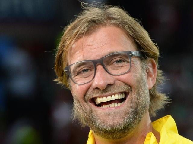 A November 30, 2013 file photo of Jurgen Klopp during the Bundesliga match between FSV Mainz 05 and Borussia Dortmund in Mainz, Central Germany.