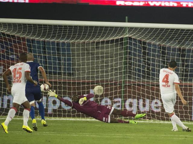 Indian Super League 2015,Delhi Dynamos,Chennaiyin FC