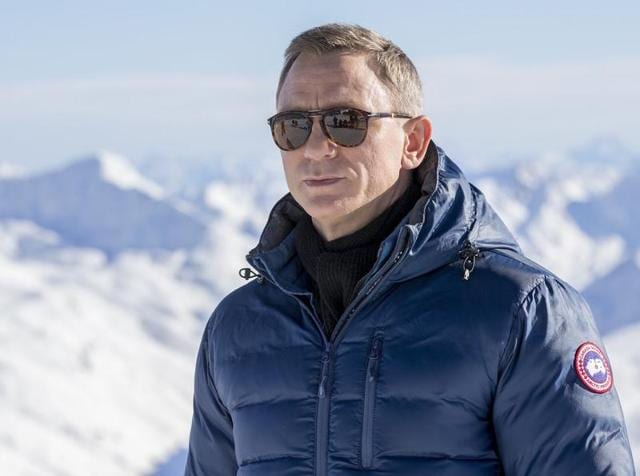 Daniel Craig poses at the photo call for the 24th Bond film Spectre in Austria.