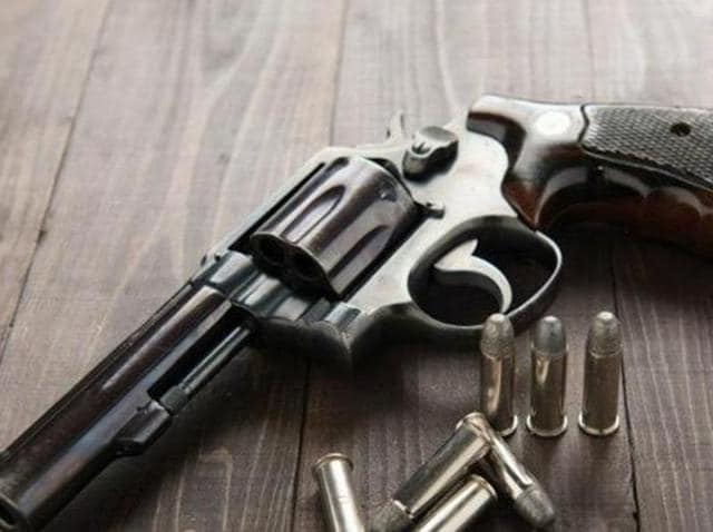 Illegal arms,Pistols,Pistols held