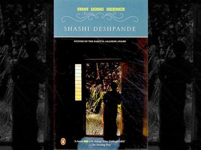 Shashi Deshpande's award winning book That Long Silence