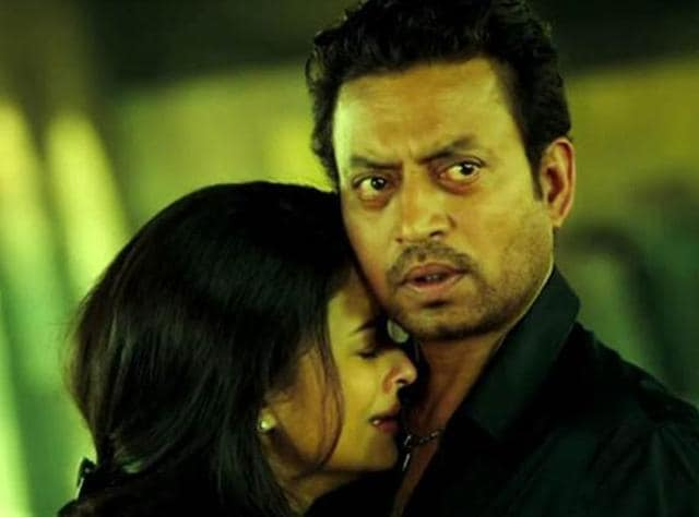 Aishwarya, Irrfan in Jazbaa.(YouTube)