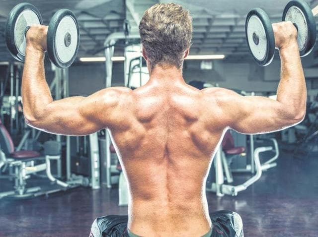 Having huge muscle doesn't mean you're in ideal shape.