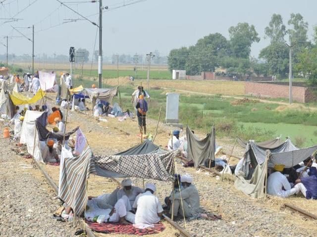 Rail roko,Blockade,Farmers' protest
