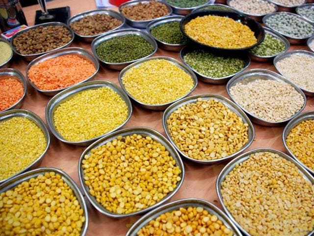 Prices of tur dal and udid dal nearly doubled  in October compared to the same time last year.