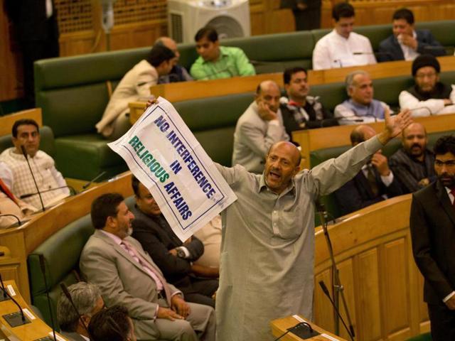 Engineer Rashid,Beef controversy,Jammu and Kashmir