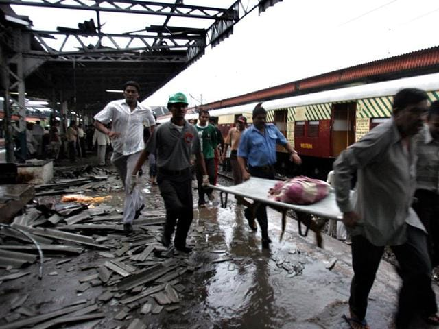 A file photo of the 11/7 serial bomb blasts in Mumbai.