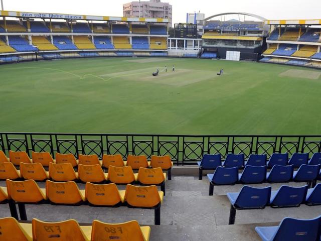Indore's Holkar Stadium is decked up to host India - South Africa ODI to be played on October 14.
