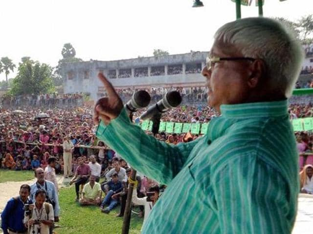 RJDChief Lalu Prasad landed himself in hot water over his comment that Hindus also eat beef.