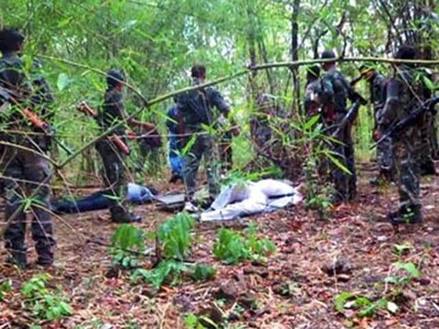 (Representative image) File photo of a Maoist camp.
