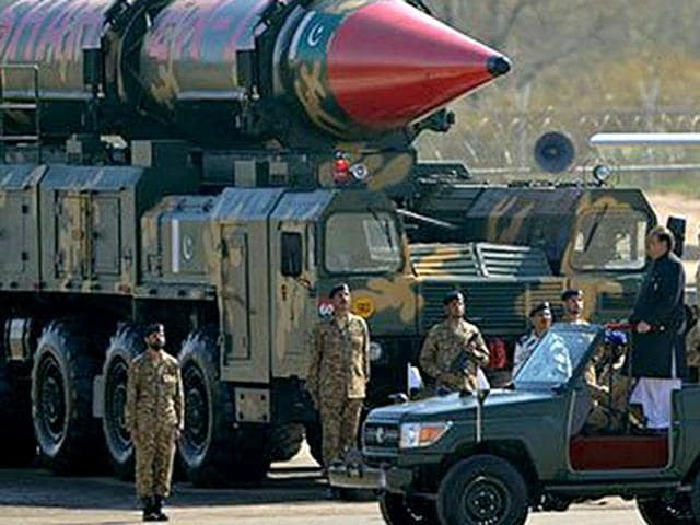 Pakistan is estimated to have an impressive nuclear arsenal of 100-120 nuclear warheads.