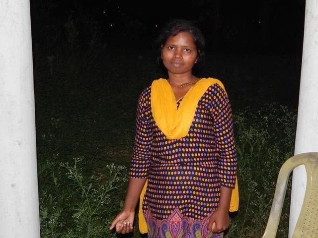 A photo of former Maoist leader Sanjeeta Kumari alias Guddi's whose dead body was found in Gumla, Jharkhand. Guddi was killed as she was accused of becoming a police informer by other Maoists.