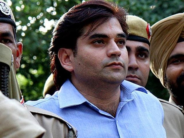 Vikas Yadav (in pic) has been found guilty of abducting and killing Nitish Katara in February 2002.
