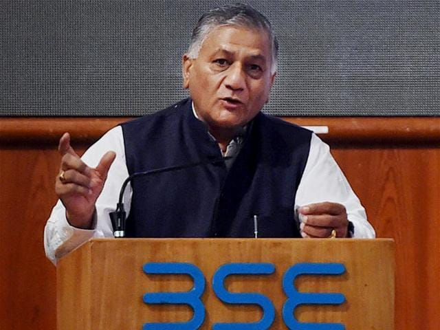 Go abroad for jobs only through recognised agents: VK Singh