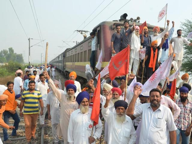 Punjab,rail roko,Samjhauta Express